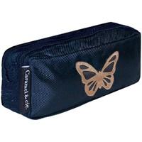 Sacs Enfant Trousses Caramel&Cie Trousse scolaire  Ref 53813 papillon Bleu