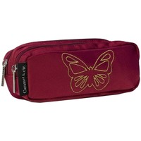 Sacs Enfant Trousses Caramel&Cie Trousse scolaire  Ref 53812 papillon Rouge