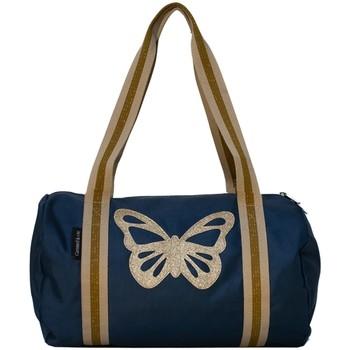 Sacs Sacs de voyage Caramel&Cie Sac de voyage  Ref 53798 papillon ble Bleu