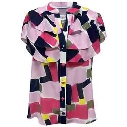 Vêtements Femme Chemises / Chemisiers Georgedé Chemise Dina en Mousseline Imprimée Multicolore