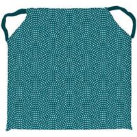 Maison & Déco Galettes de chaise Soleil D'ocre Paon Bleu