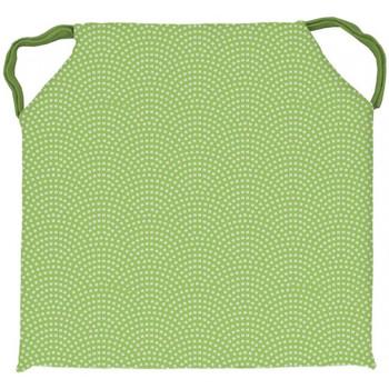 Maison & Déco Galettes de chaise Soleil D'ocre Paon Vert
