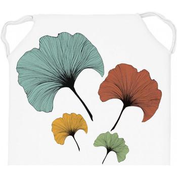 Maison & Déco Galettes de chaise Soleil D'ocre GINKGO Multicolore