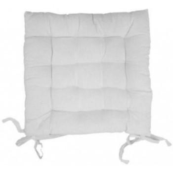 Maison & Déco Galettes de chaise Soleil D'ocre PANAMA Blanc