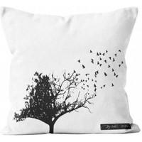 Maison & Déco Housses de coussins Soleil D'ocre Birds Taupe