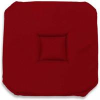 Maison & Déco Galettes de chaise Soleil D'ocre Alix Rouge