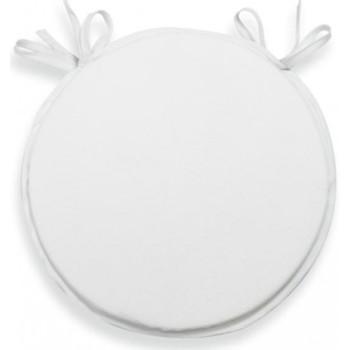 Maison & Déco Galettes de chaise Soleil D'ocre Alix Blanc