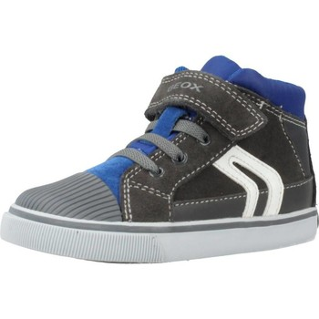 Chaussures Garçon Baskets montantes Geox B KILWI BOY Gris