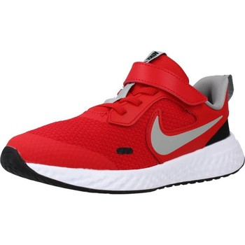 Chaussures Fille Running / trail Nike REVOLUTION 5 Rouge
