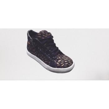 Chaussures Fille Baskets montantes Bopy SOLARA NOIR/OR