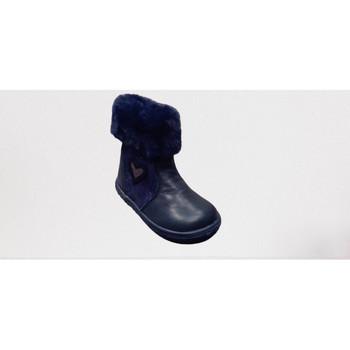 Chaussures Fille Bottes de neige Bopy ROSALIE MARINE