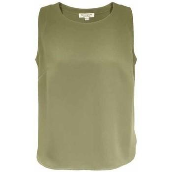 Vêtements Femme Tops / Blouses Georgedé Top Caraco Gina sans manche Kaki Vert