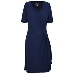 Vêtements Femme Robes Georgedé Robe Cécile en Jersey Marine Bleu