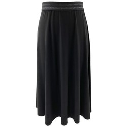 Vêtements Femme Jupes Georgedé Jupe Zola Elastiquée Noire Noir