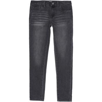 Vêtements Fille Jeans slim Levi's Jeans fille délavé Gris