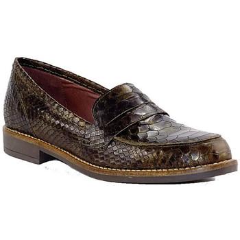 Chaussures Femme Mocassins Maroli 7428 KAKI BRONZE METAL OR