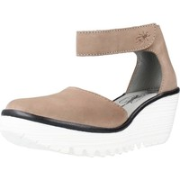Chaussures Femme Polo Ralph Lauren Fly London YAND709FLY Marron