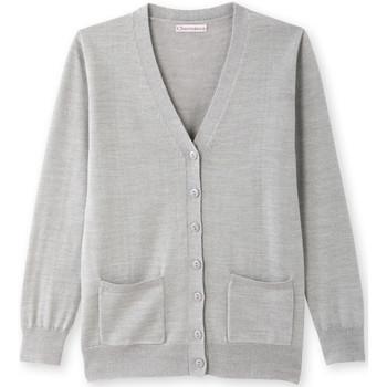 Vêtements Femme Gilets / Cardigans Balsamik Gilet encolure V laine mérinos grischin