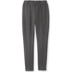 Vêtements Femme Pantalons Balsamik Pantalon droit élastiqué en maille milan grischin