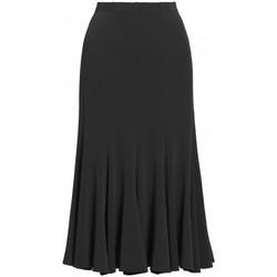 Vêtements Femme Jupes Georgedé Jupe Maya en Jersey Noire Noir