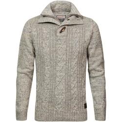 Vêtements Homme Pulls Petrol Industries KWC211 0009 ANTIQUE WHITE MELEE Gris clair