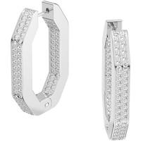 Montres & Bijoux Femme Boucles d'oreilles Swarovski Créoles Dextera octogonales Blanc
