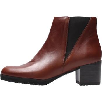 Chaussures Femme Bottines Grunland - Tronchetto marrone PO2232 MARRONE