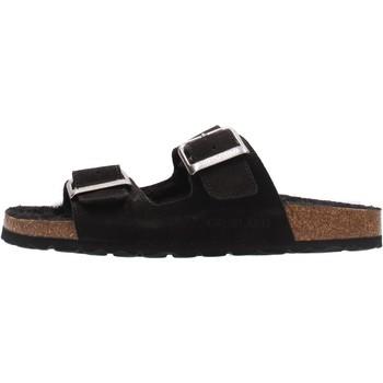 Chaussures Femme Mules Grunland - Pantofola nero CB2586 NERO