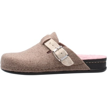 Chaussures Femme Chaussons Grunland - Pantofola taupe CI0795 BEIGE
