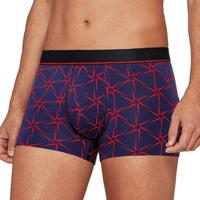 Sous-vêtements Homme Boxers Iamwhatiwear Boxer Homme Lyocell ENERGETIC Bleu Rouge Bleu