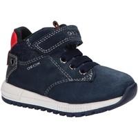 Chaussures Garçon Boots Geox B163CC 02213 B ALBEN Azul