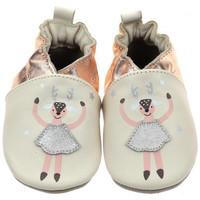 Chaussures Fille Chaussons bébés Robeez doe ballet Multicolore