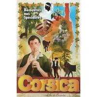 Maison & Déco Affiches, posters Corse Affiche ancienne de  Spécialités Orange