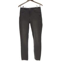 Vêtements Femme Jeans slim Promod Jean Slim Femme  38 - T2 - M Gris