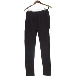 Vêtements Femme Chinos / Carrots Pieces Pantalon Droit Femme  36 - T1 - S Gris
