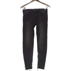 Vêtements Femme Jeans slim Zara Jean Slim Femme  34 - T0 - Xs Noir