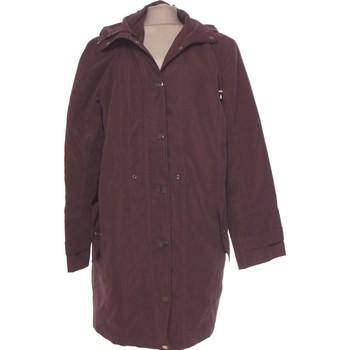 Vêtements Femme Manteaux Damart Manteau Femme  40 - T3 - L Violet