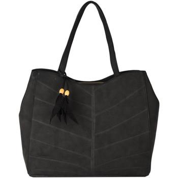 Sacs Femme Cabas / Sacs shopping Woomen Cabas Nervure NERVURE 709-00WNER03 CAMEL