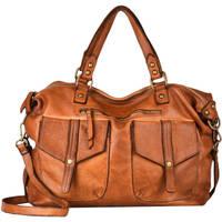 Sacs Femme Sacs porté main Milano Sac Shopping Dewashed cuir DEWASHED 94D-0DE21062 CUOIO