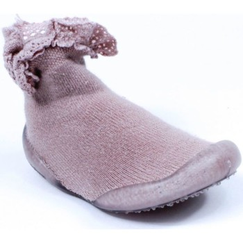 Chaussures Fille Chaussons Collegien Chaussons Coton rose