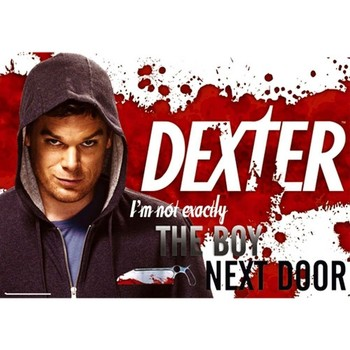 Maison & Déco Affiches, posters Dexter Poster  I m not Exactly Rouge