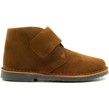 Chaussures Enfant Boots Boni & Sidonie Bottines en daim à lacets - MARIUS II Daim Beige Foncé