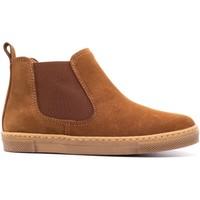 Chaussures Enfant Boots Boni & Sidonie Boots à enfiler en daim - KOLA Daim Beige Foncé