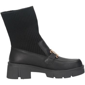 Chaussures Femme Bottines Exé Shoes Exe' PB6266-F413 Mocasines Femme NOIR NOIR