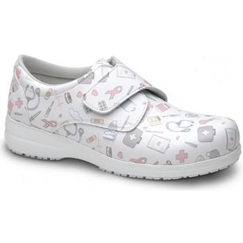 Chaussures Mocassins Feliz Caminar CHAUSSURES SANITAIRES UNISEXE ATOM Blanc