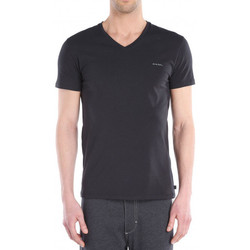 Vêtements Homme T-shirts manches courtes Diesel Tee-shirt  Michael (Noir) Noir