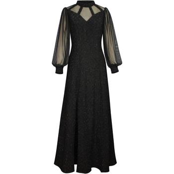 Vêtements Femme Robes longues Chic Star 86410 Noir