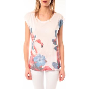 Vêtements Femme T-shirts manches courtes Little Marcel T-shirt E15FTSS0231 Tibali Rose poudre Rose