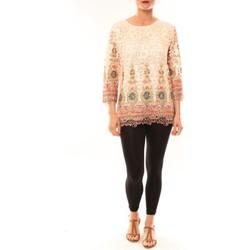 Vêtements Femme Tuniques Meisïe Tunique 23-250SP15 Écru Beige