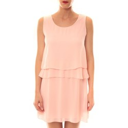 Vêtements Femme Robes courtes Carla Conti Robe TROIS  Rose Rose